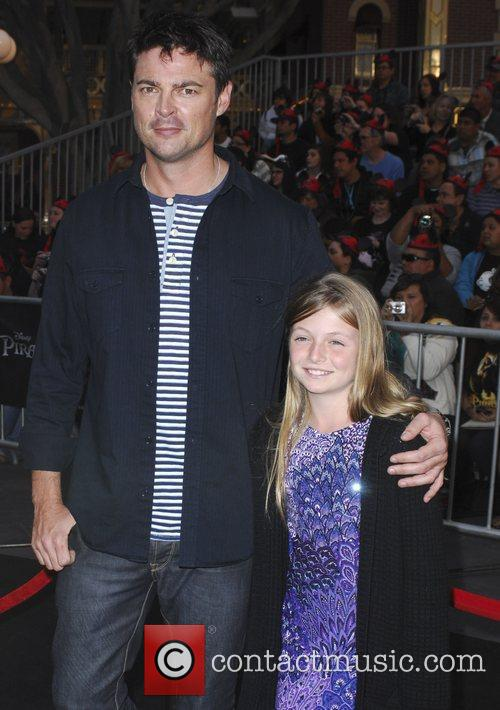 Karl Urban and his daughter 'Pirates Of The...