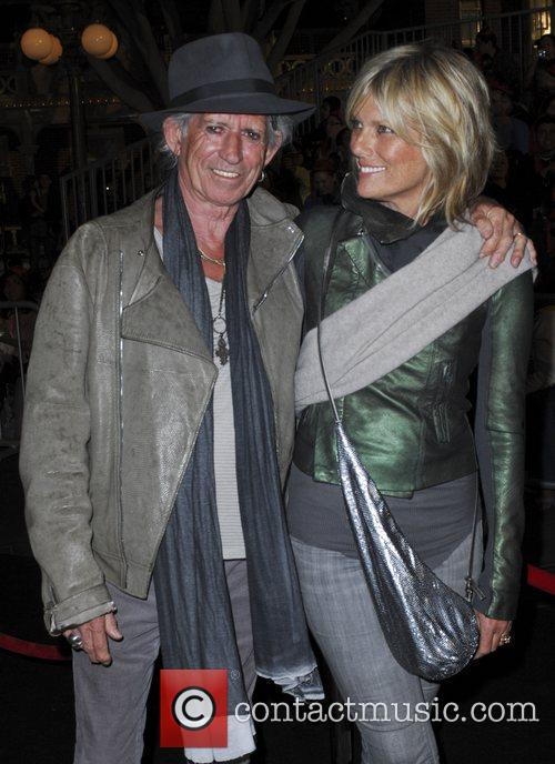 Keith Richards and Patti Hansen 'Pirates Of The...