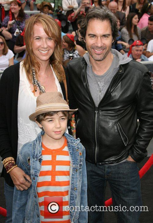 Eric McCormack and family 'Pirates Of The Caribbean:...