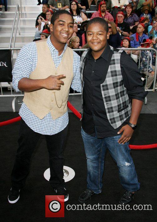 Chris Massey and Kyle Massey 'Pirates Of The...