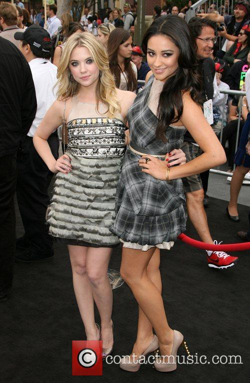 Ashley Benson and Shay Mitchell 'Pirates Of The...