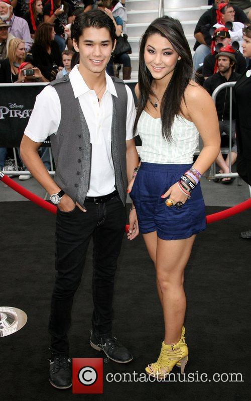 Booboo Stewart and Fivel Stewart 'Pirates Of The...