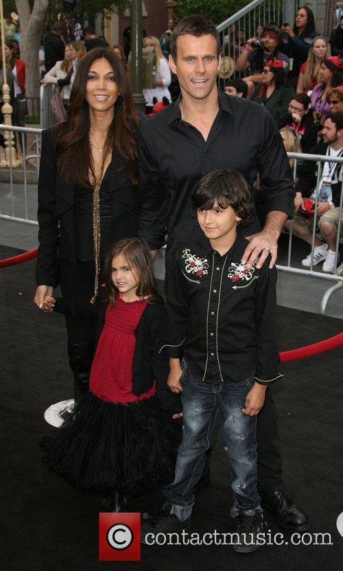 Cameron Mathison and family 'Pirates Of The Caribbean:...