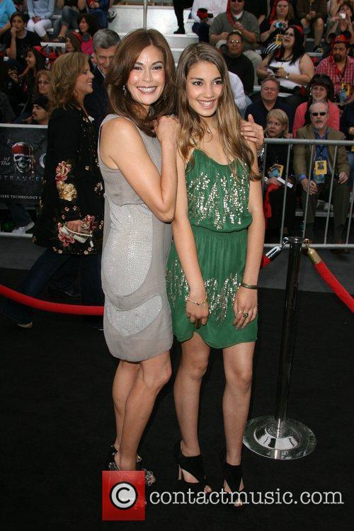 Teri Hatcher with daughter Emerson Pirates Of The...