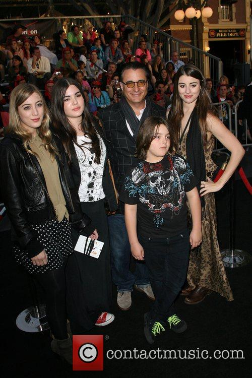 Andy Garcia and family 'Pirates Of The Caribbean:...