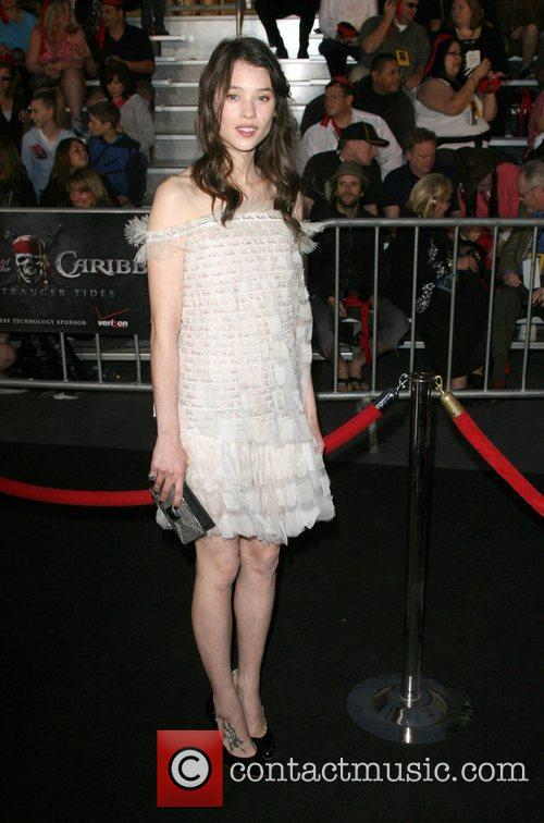 Astrid Berges-Frisbey 'Pirates Of The Caribbean: On Stranger...