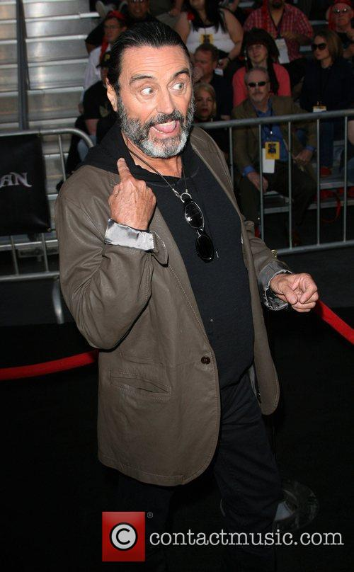 Ian McShane 'Pirates Of The Caribbean: On Stranger...