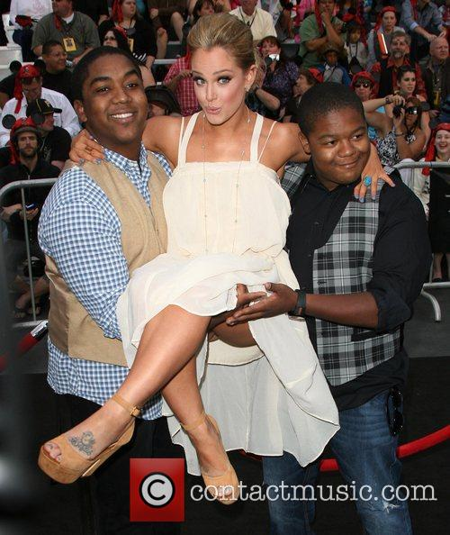 Lacey Schwimmer and Kyle Massey 4
