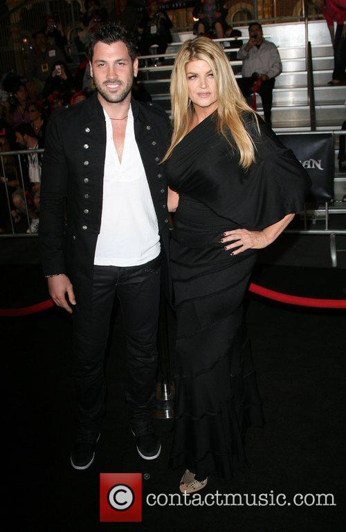 Maksim Chmerkovskiy and Kirstie Alley 'Pirates Of The...