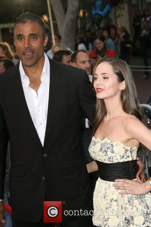 Rick Fox and Eliza Dushku 1