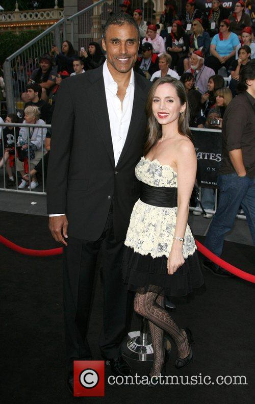 Rick Fox and Eliza Dushku 2