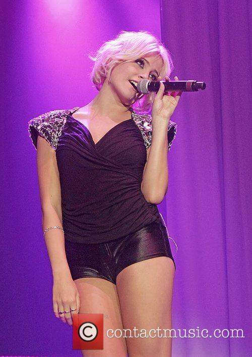 Pixie Lott  performing at Manchester MEN Arena...