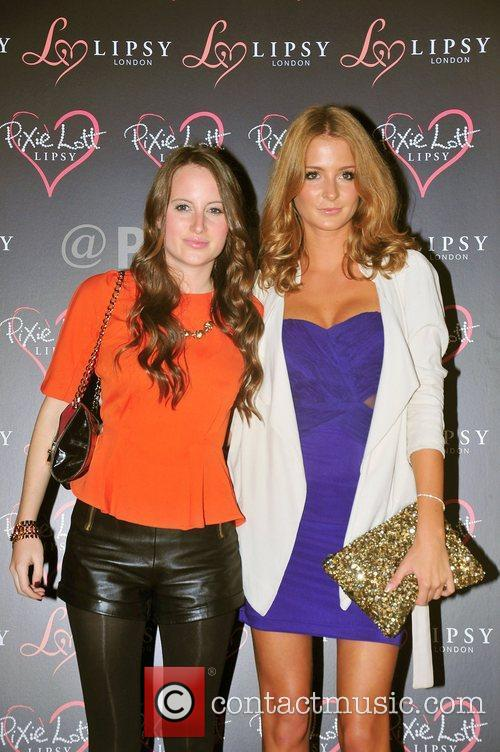 Rosie Fortescue and Millie Mackintosh,  at the...