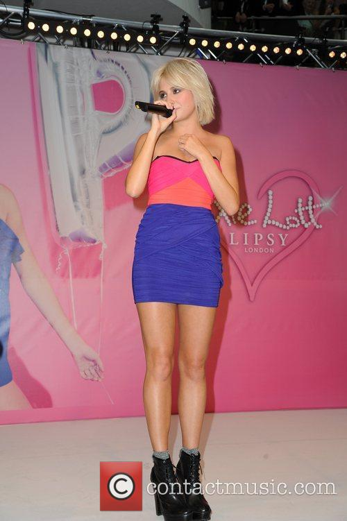 Pixie Lott  performs after she unveils her...