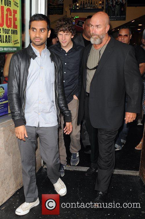 Jesse Eisenberg and Aziz Ansari 5