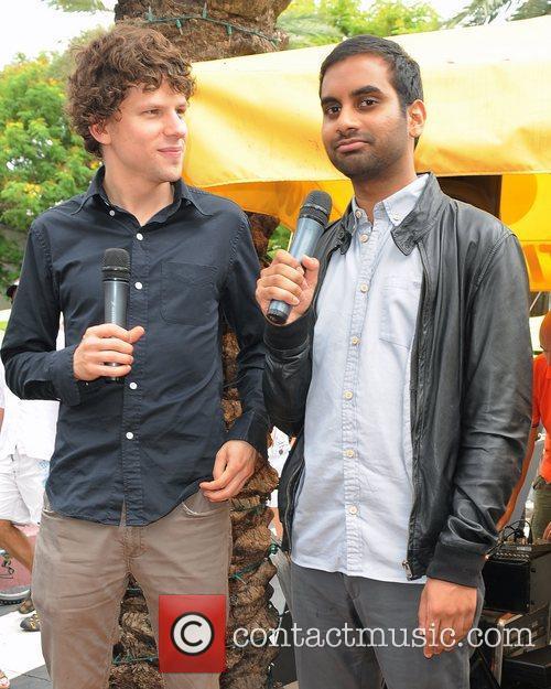 Jesse Eisenberg and Aziz Ansari 12