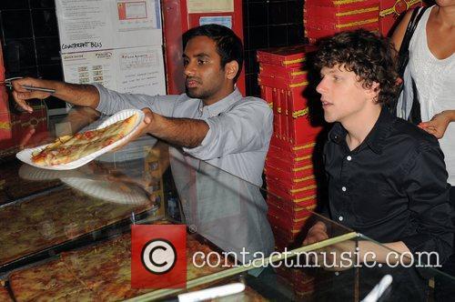 Jesse Eisenberg and Aziz Ansari 13