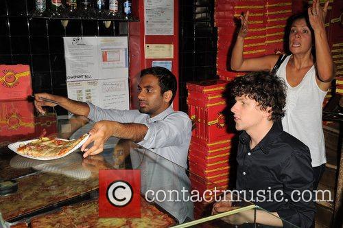 Jesse Eisenberg and Aziz Ansari 9