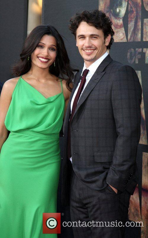 Freida Pinto and James Franco 1