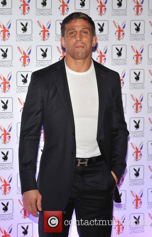 Alex Reid Playboy Club London Gala Opening Event...