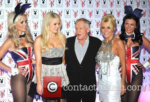 Hugh Hefner and Crystal Harris 1