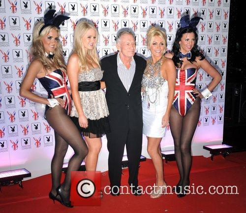 Hugh Hefner and Crystal Harris 7