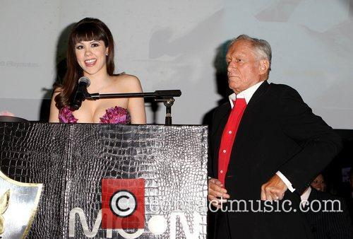 Hugh Hefner and Hope Dworaczyk 4