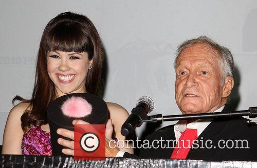 Hugh Hefner and Hope Dworaczyk 5