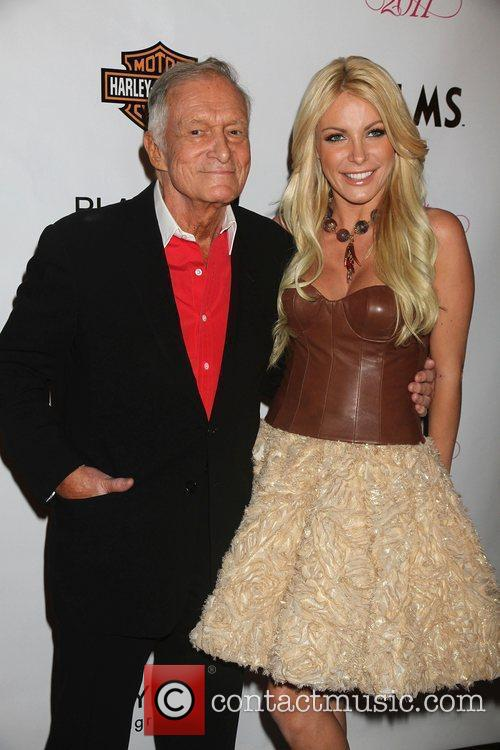 Hugh Hefner and Crystal Harris 8