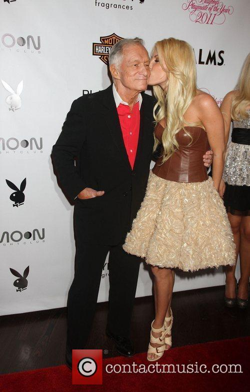 Hugh Hefner and Crystal Harris 6