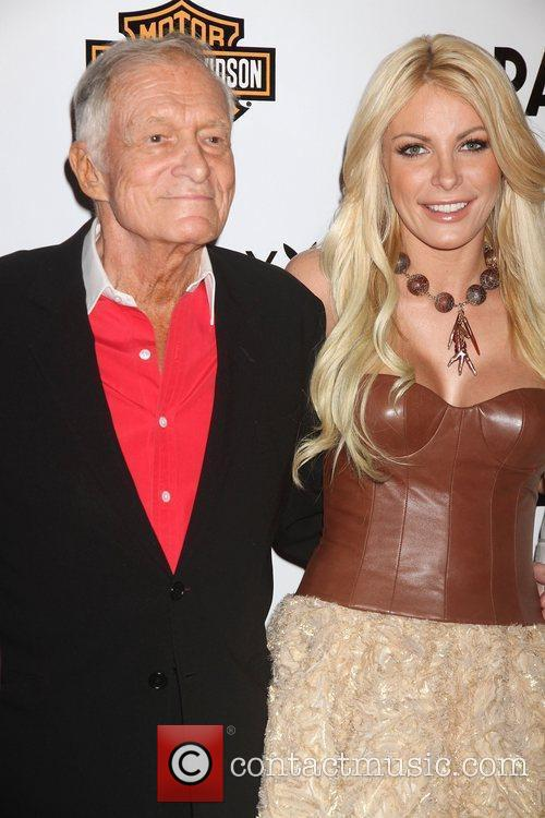 Hugh Hefner and Crystal Harris 9
