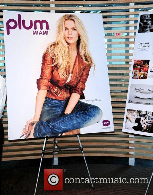 Atmosphere Plum Miami magazine holds a press conference...