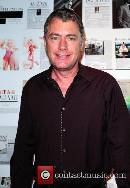 Plum Miami Magazine Editor in Chief Glenn Albin...