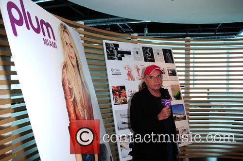 Plum Miami magazine holds a press conference to...