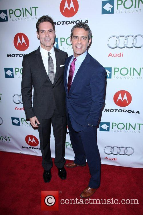 Guest and Andy Cohen The Point Foundation's '4th...