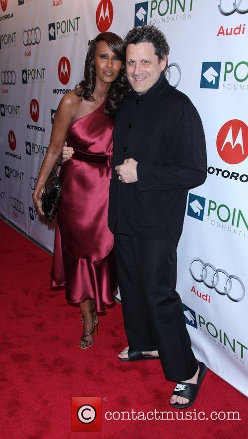 Iman and Isaac Mizrahi The Point Foundation's '4th...