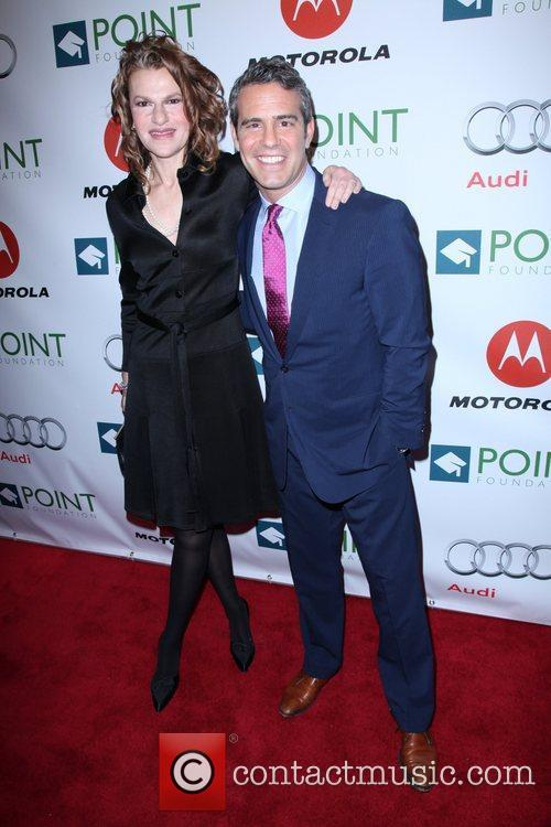 Sandra Bernhard and Andy Cohen The Point Foundation's...
