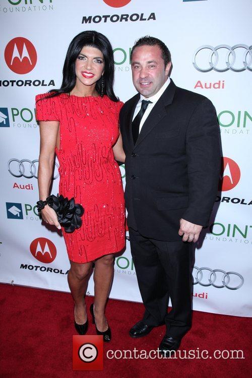 Teresa Giudice and Joe Giudice The Point Foundation's...