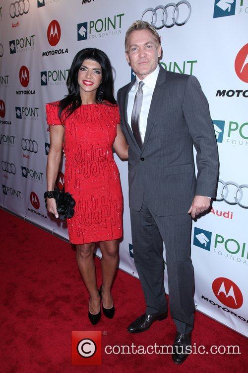 Teresa Giudice and Sam Champion The Point Foundation's...