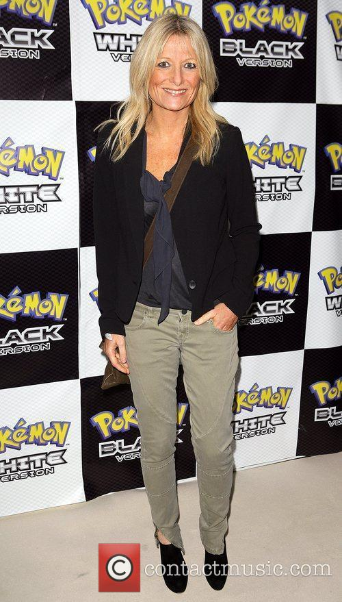 Gaby Roslin Pokemon Black and White Launch Party...