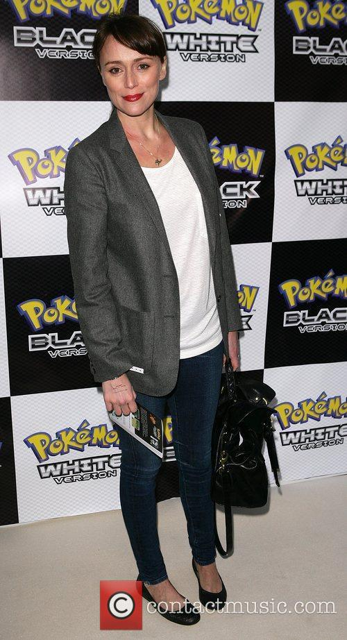 Keeley Hawes Pokemon Black and White Launch Party...