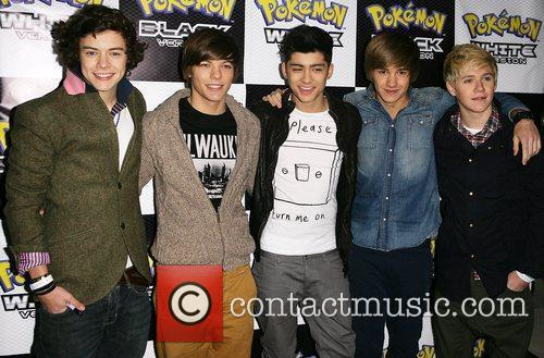 One Direction Pokemon Black and White Launch Party...