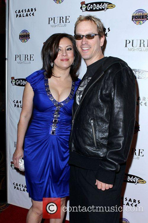 Jennifer Tilly and Phil Laak NBC's 2011 Heads-Up...