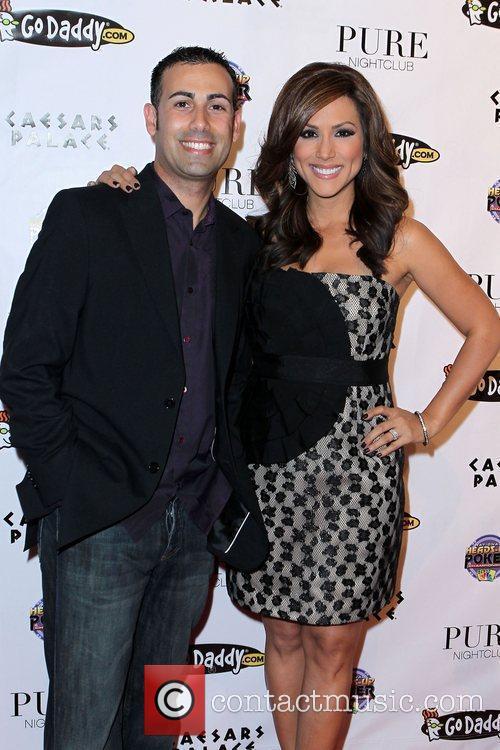 Ali Nejad and Leeann Tweeden NBC's 2011 Heads-Up...