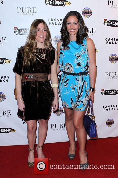 Guest and Kara Scott NBC's 2011 Heads-Up Poker...