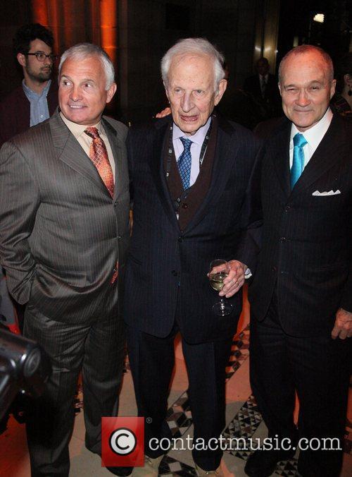 Fred Wilpon, Robert Morgenthau, Raymond Kelly  Police...