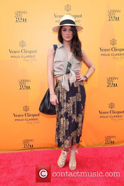 Shenae Grimes,  at the 2011 Veuve Clicquot...