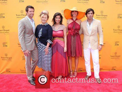 Hugh Jackman, Deborra-lee Furness and Nacho Figueras 2