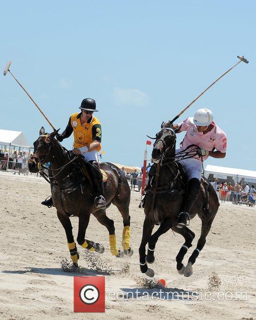 Polo match AMG Beach Polo event Miami Beach,...