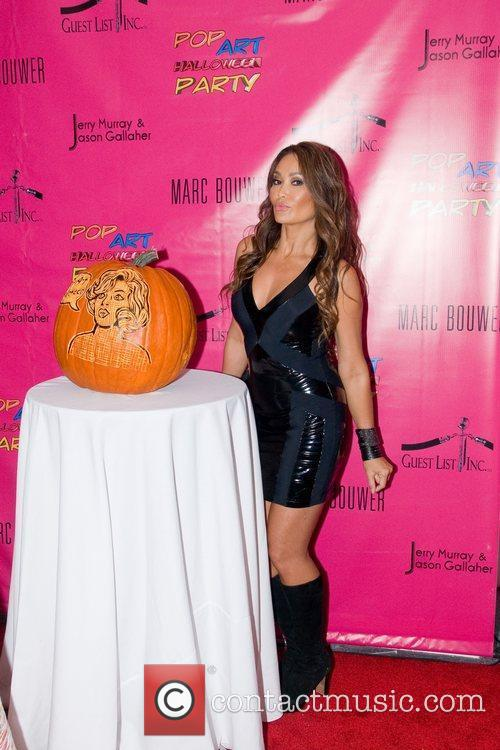 Tia Carrere Pop Art Halloween presented by Morgan...
